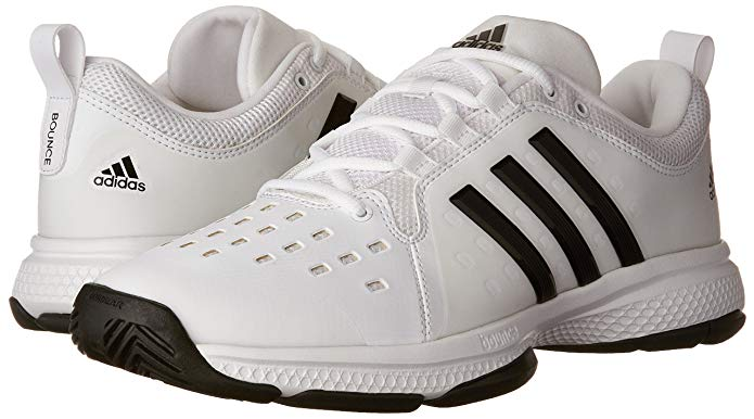 bc8782d48bd The Adidas Barricade Classic Bounce shoes are no pushovers. After weeks of  intense use in the court