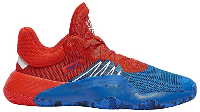 Adidas Issue1 basketball shoes for flat feet