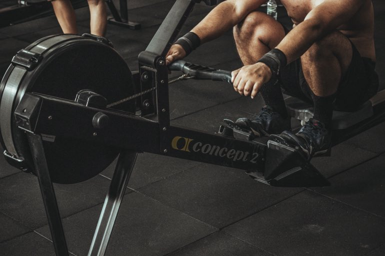 indoor rowing for fitness