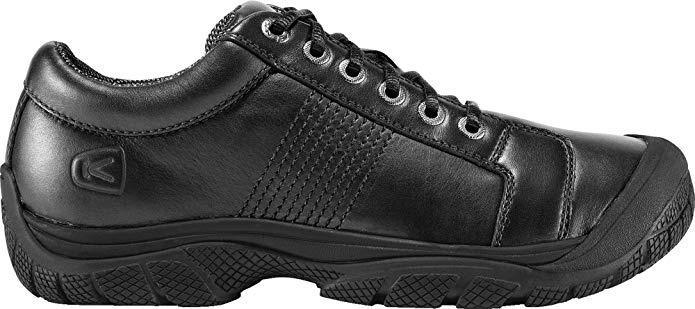 KEEN PTC oxford shoes for people requiring arch support in their shoes