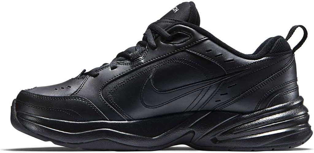 Nike Air Monarch IV shoes as good jumping shoes
