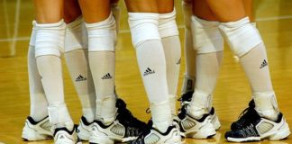 header image for volleyball shoes article