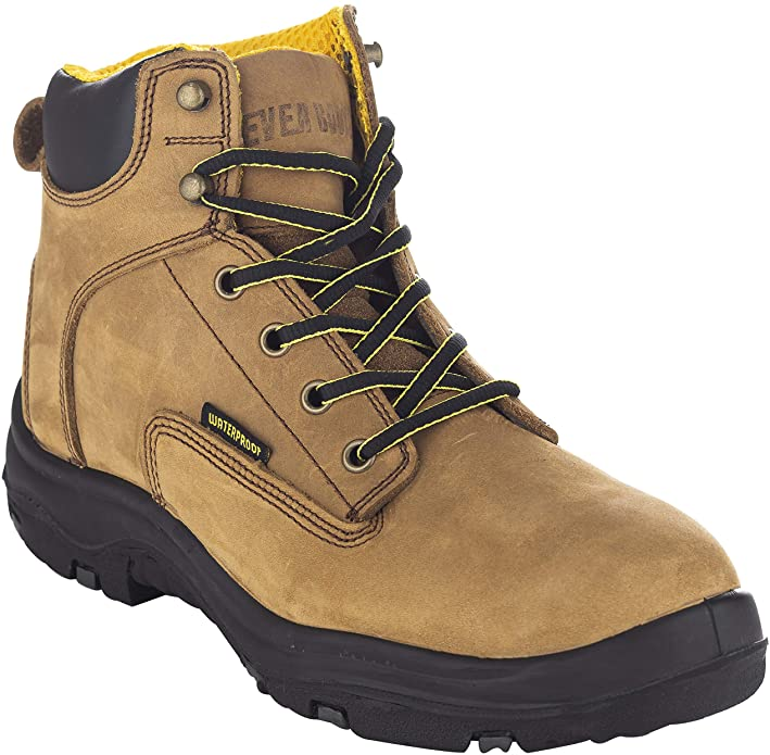 Ever boots leather work shoes