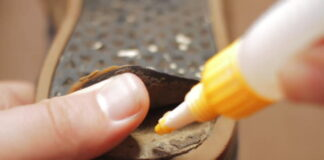 shoe glue repair article header image