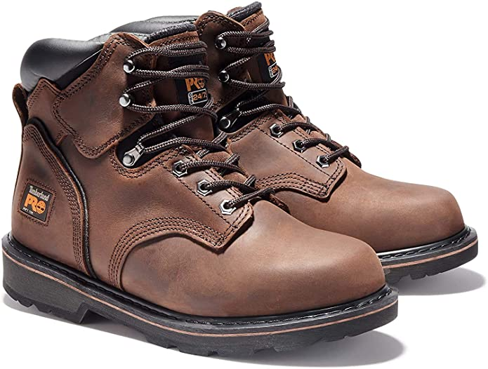 Timberland Pitboss boots for work with soft-toe