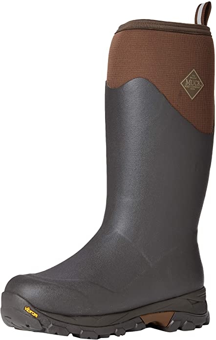 Muck arctic ice knee length boots for winter