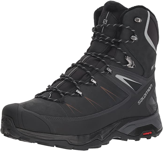 Salomon X ultra boots for hiking in the winter