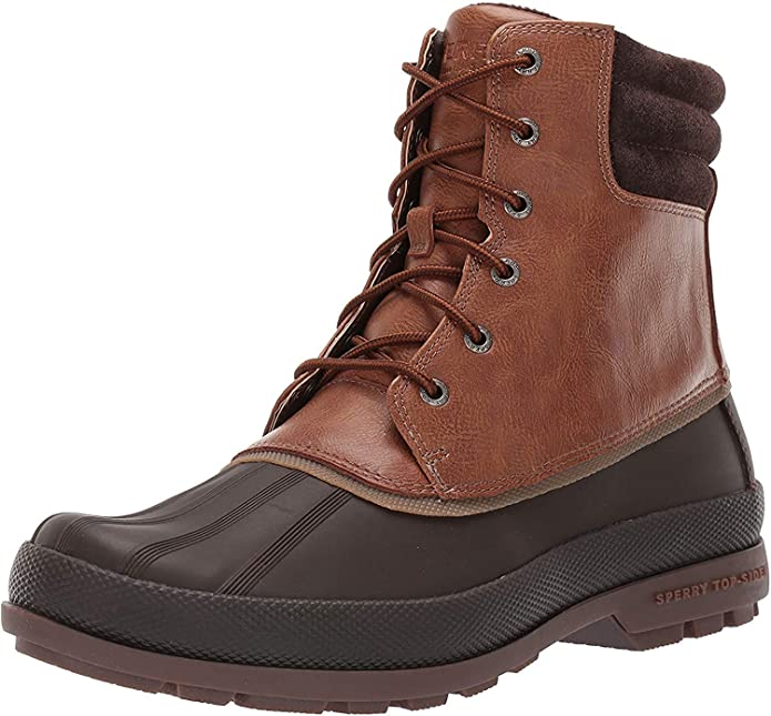 Top-Sider winter boots with leather upper