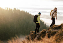 technical differences between different hiking footwear - banner